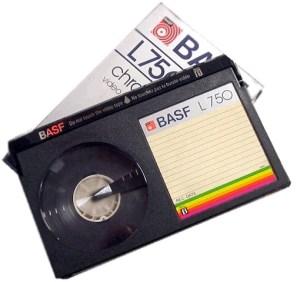 betamax videobanden digitaliseren