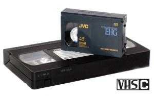 VHS-C videocamera bandjes digitaliseren