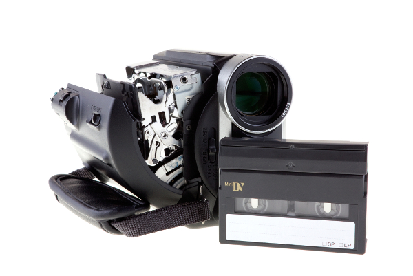 Videocamera banden digitaliseren