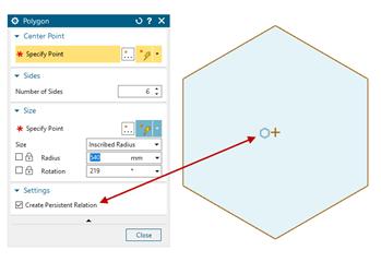 Polygon és a Pattern parancsok.