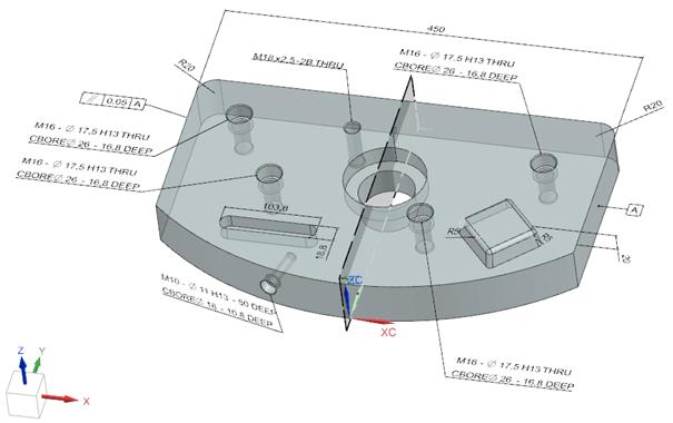 NX 3D-s PDF PMI