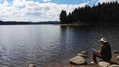 The lake itself