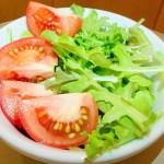 ファミマの育てるサラダは順調に2回目の収穫です