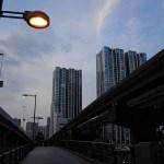 モノレール、運河、高層ビル、夕日・・カメラ片手に天王洲アイルを歩いてみた