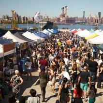 Smorgasburg festival in NYC. Photo by Smorgasburg
