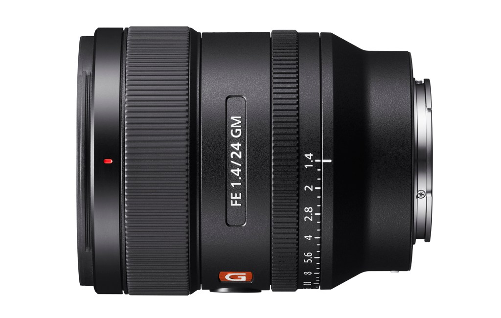 Sony Announces Full Frame 24mm F1.4 G Master Prime