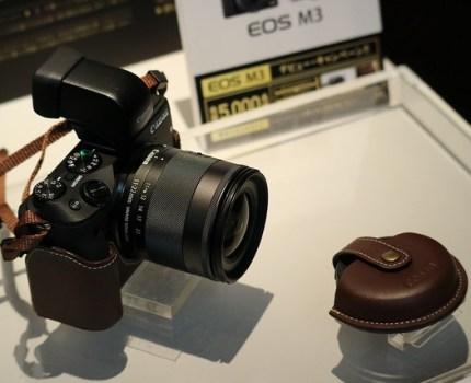 CANON EOS M3 発表日にモノフェローズイベントで撮影体験