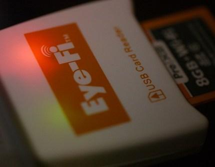 Eye-Fi 8GB Pro X2 到着