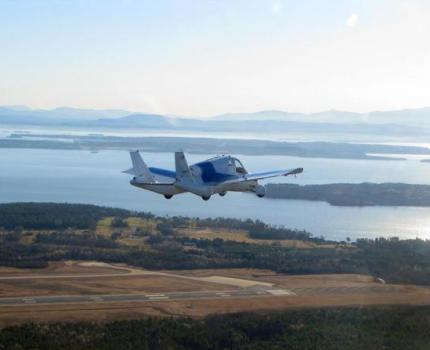 Terrafugia 空飛ぶ自動車Transitionの試作機の飛行に成功
