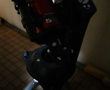 Kenko Sky Explorer SE-AT90M 天体望遠鏡で月を撮影