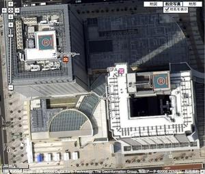 Google Maps/Earthの航空写真が更新