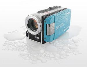 Eye-Fi対応ハイビジョン防水Xacti限定モデル「水のXacti」