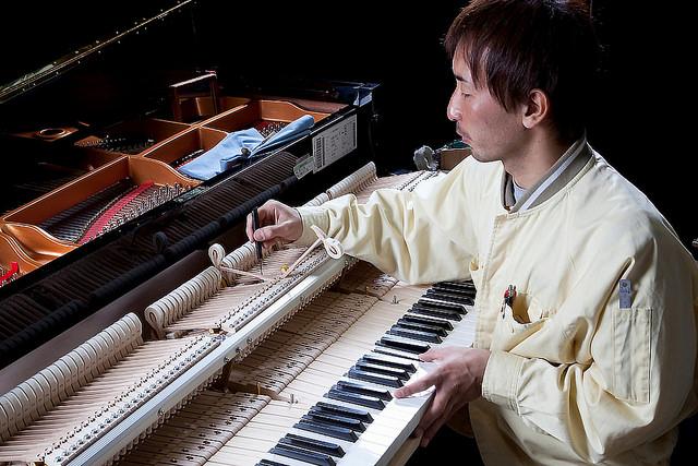 ヤマハ掛川工場でグランドピアノ製造を見学 ピアノは職人の技でできている #ヤマハカート