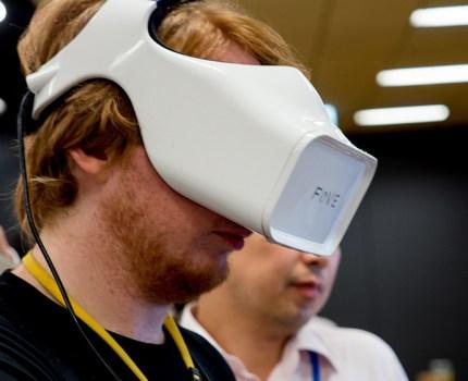 Oculus Riftを視線トラッキング技術で追撃するFOVEを体験 VR HMD界のAppleを目指す #プレカン