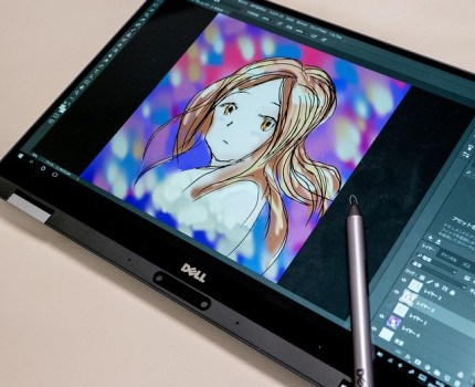 DELL XPS 13 2-in-1 タブレットスタイル&Active Penが使いやすい #デルアンバサダー