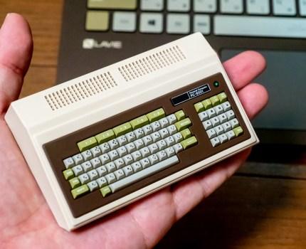 40年のパソコンの進化を感じる PasocomMini PC-8001 と LAVIE Pro Mobile 40周年記念カラーモデル #LAVIE #Promobile