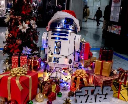 クリスマスとイルミネーションとスターウォーズ