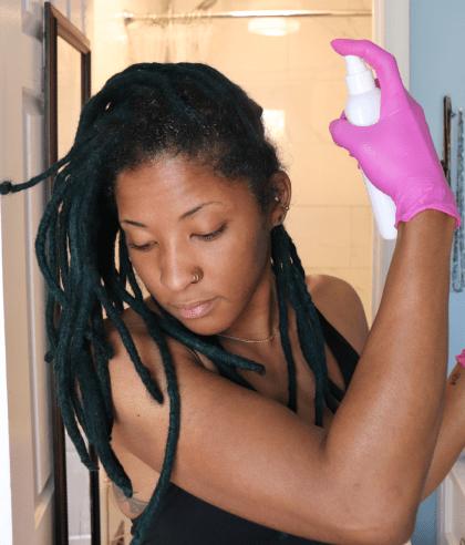 pre cleanse scalp treatment for locs