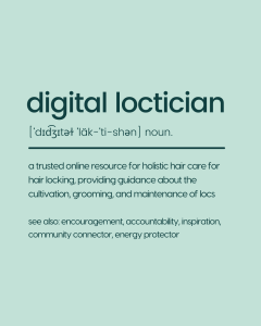 the definition of digital loctician