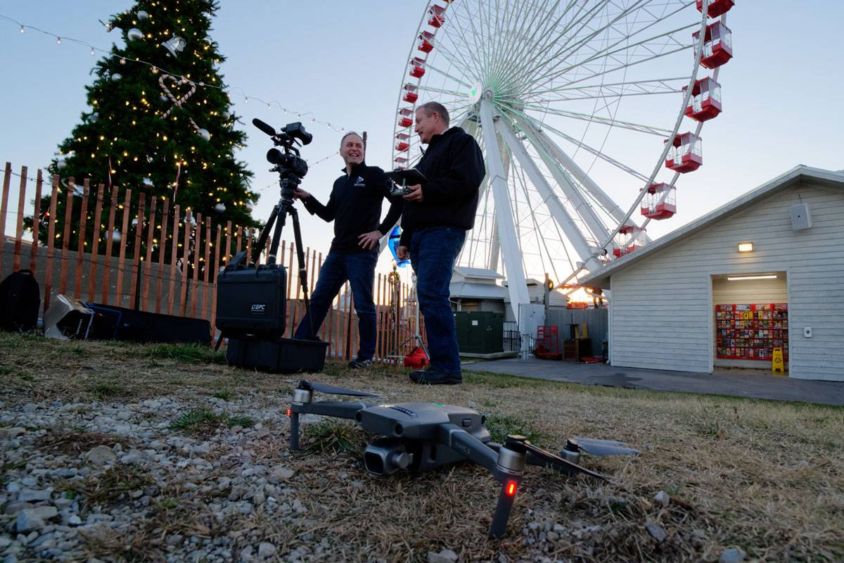 Digital Lunchbox video team on-location in Branson, MO