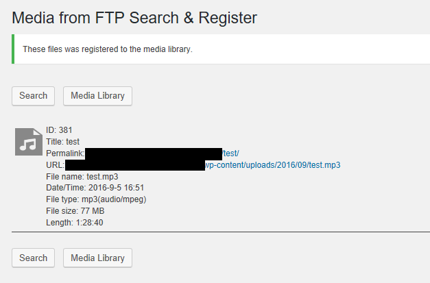 Adding media to the Media Library using Cyberduck FTP - Step 6