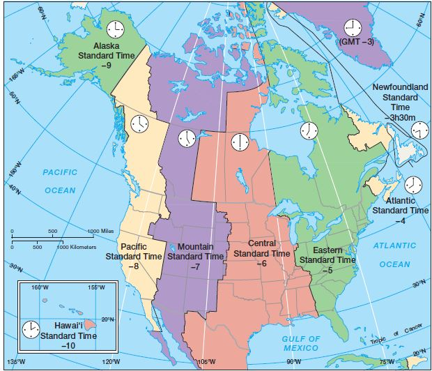 Time zones and International date line | UPSC - IAS ...