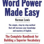Norman Lewis – Word Power Made Easy (Fully Revised & Expanded)   CAT   MAT   UPSC