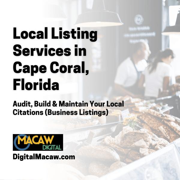 local citations service - cape coral fl