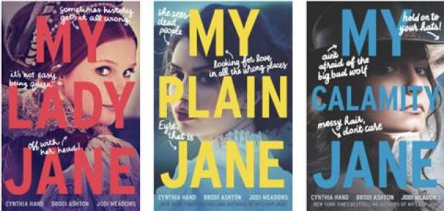 Kids Reference - Cynthia Hand's The Lady Janies Series