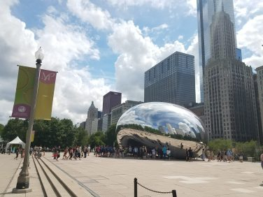 Chicago Cloud Gate with Brad Treks America