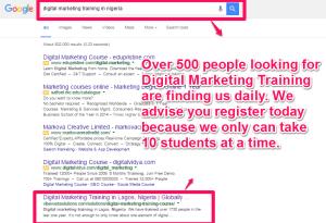 Digital marketing course in nigeria