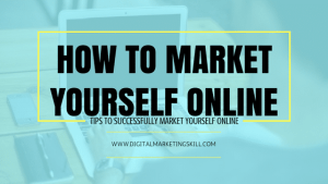 How To Market Yourself Online For Free [Infographic]