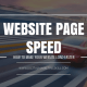 HOW TO MAKE YOUR WEBSITE LOAD FASTER - INCREASE WEBSITE SPEED