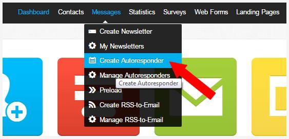 Create Autoresponder with Getresponse