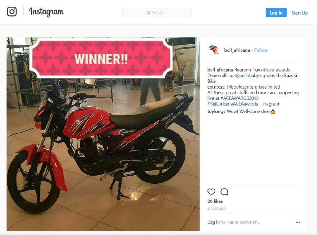 run instagram competition