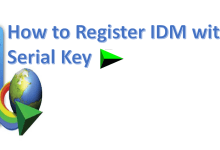 Photo of How to Register Internet Download Manager Without Serial Key