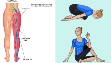 Photo of 9 Yoga Poses for Sciatica Pain Relief