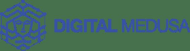 digital medusa logo