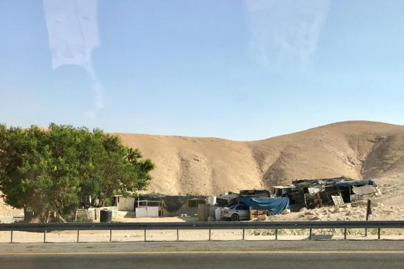 Comunidad de Beduinos en el desiero de Judea