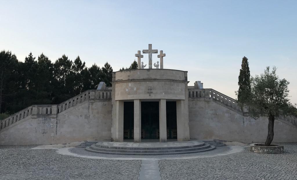 Última estación del Via Crucis