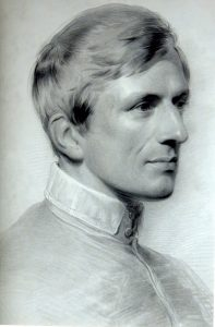 7-Engraving-of-Newman-by-Henry-MacLean-based-on-a-portrait-by-George-Richmond-197x300