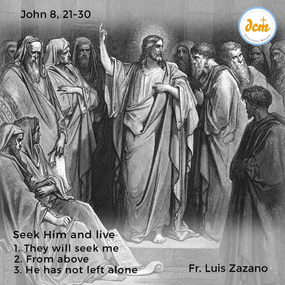 John 8, 21-30 - instagram