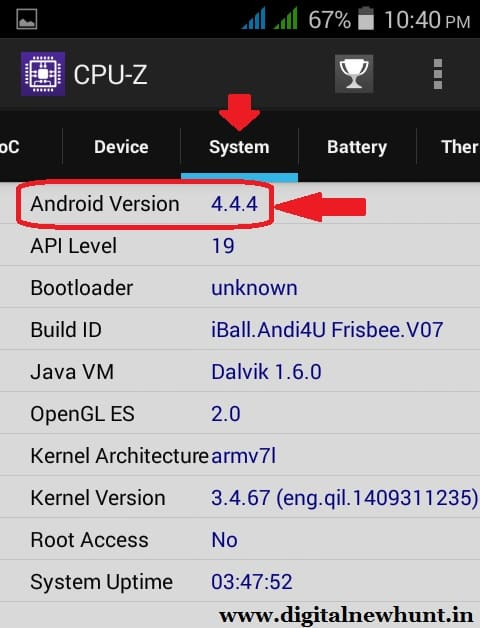 See your Phone Android version