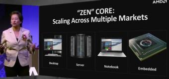 AMD napokon pokazao Zen procesore
