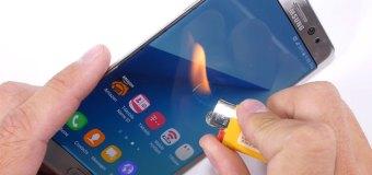 Video: Pogledajte kako Samsung Galaxy Note 7 podnosi grebanje, savijanje i vatru
