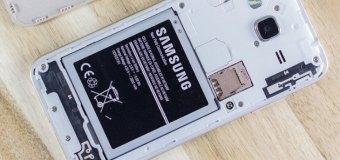 Vodič: Stavljanje memorijske kartice u Samsung j3