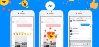 Facebook uvodi reakcije i u Messenger aplikaciju