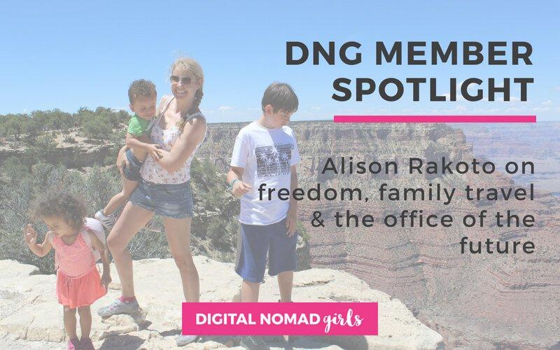 Meet Digital Nomad Girl Alison Rakoto – Career Strategist, LinkedIn Expert and Mum of 4!