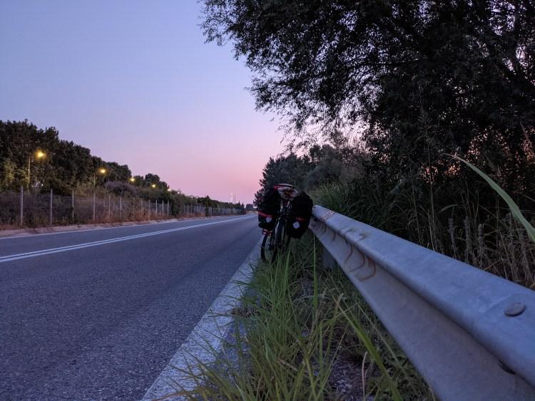 Cycling Through Greece - Katerini
