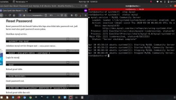 Reset MySQL server root password on Ubuntu – Peruzal Blog